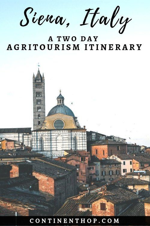 Photo of Agritourism in Siena   Eating our way through Siena — CONTINENT HOP