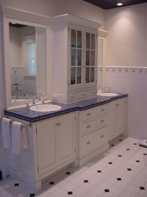 bathroom vanity ideas not the colors but the design bathroom rh pinterest co uk Traditional Bathroom Designs Traditional Bathroom Designs