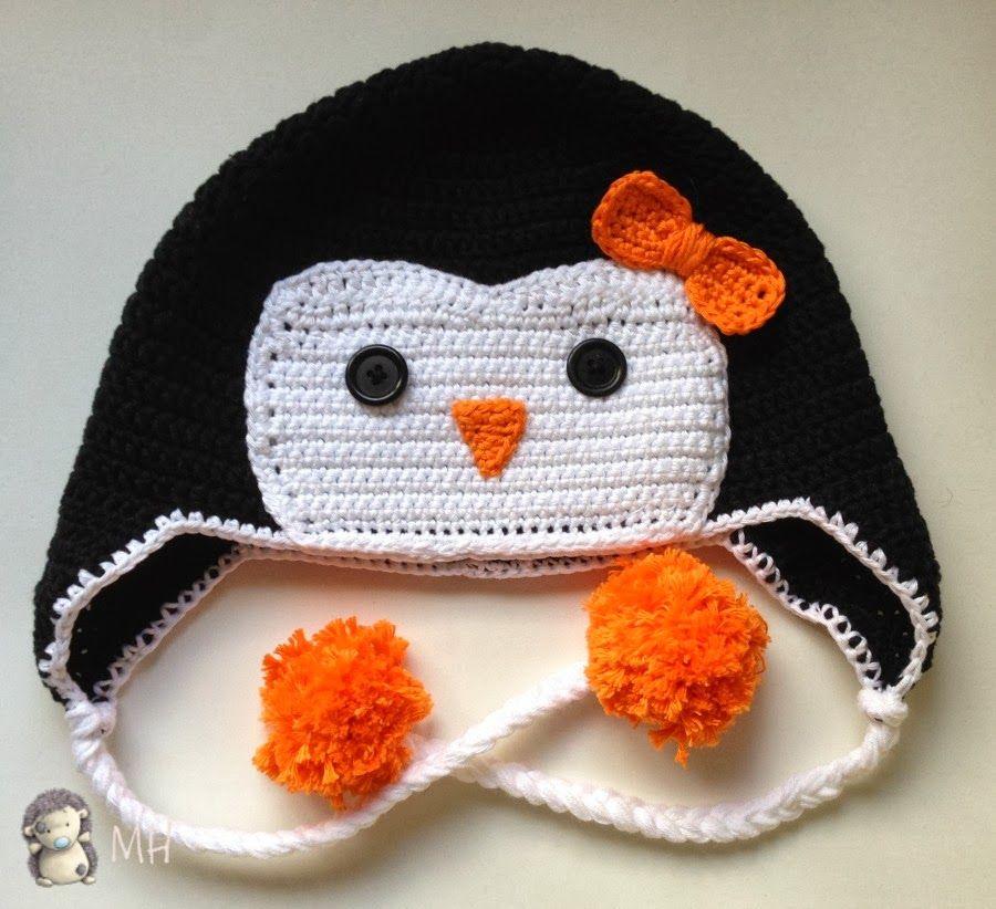 Atractivo Patrón De Tejer Para Pingüino Festooning - Ideas de ...