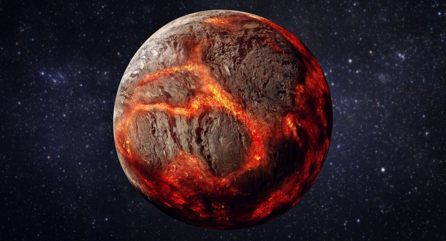 3d model planet 55 cancri e | 3d model, Planets, Model