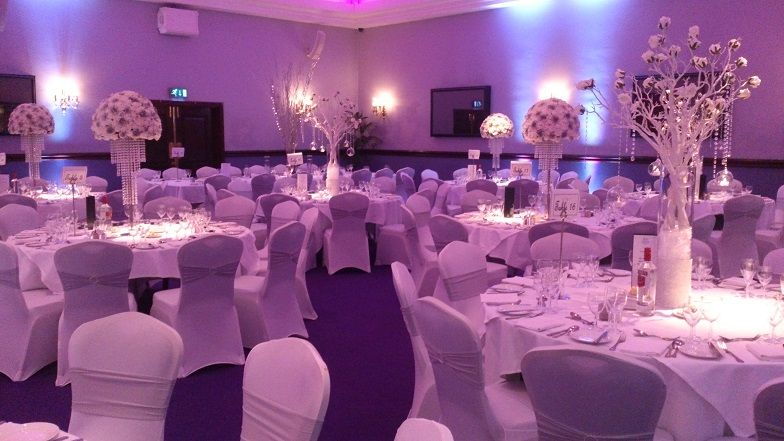 Wedding Venue Dressing At Carden Park In Chester Carden Park