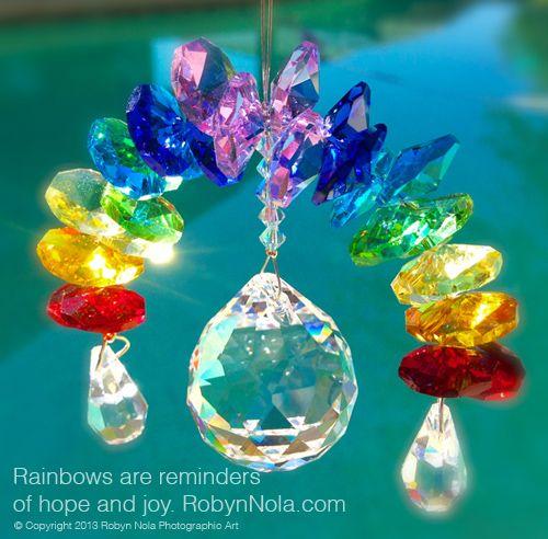 Crystal Rainbow Suncatcher-Beautiful Inspirational Gifts