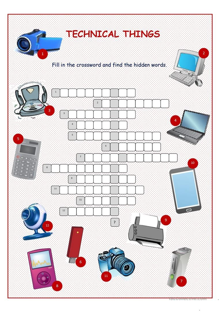 Technical things crossword puzzle worksheet free esl printable technical things crossword puzzle worksheet free esl printable worksheets made by teachers ccuart Gallery