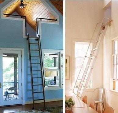 The Cozy Nook Loft Home Loft Ladder House