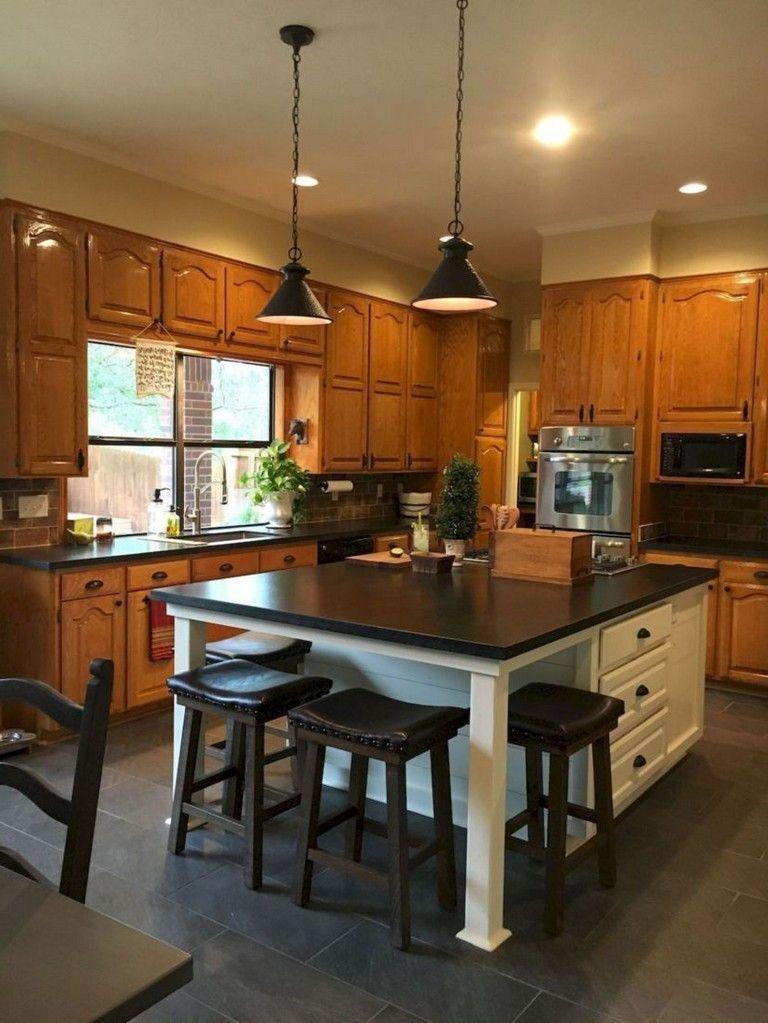 40 best rustic farmhouse kitchen cabinets makeover ideas new kitchen cabinets kitchen remodel on farmhouse kitchen hutch id=39341