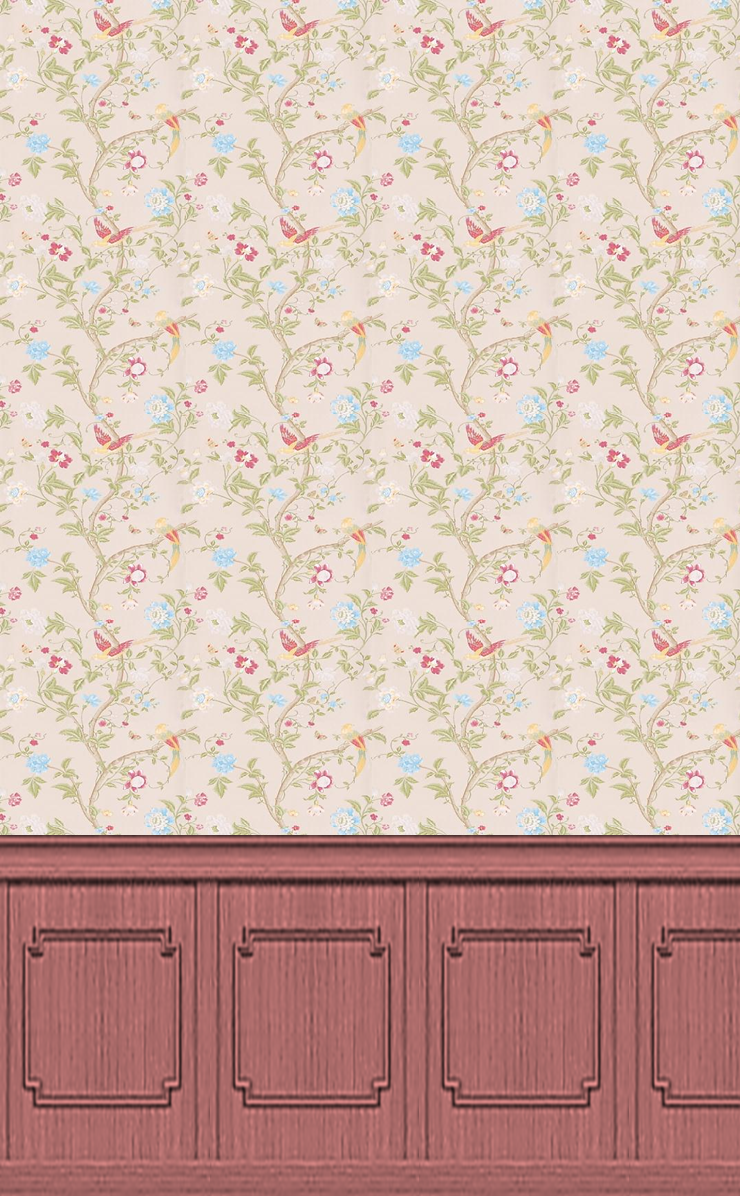 Slobbery image intended for dolls house wallpaper free printable