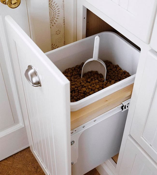 pet dog for cabinet with kitchen bowls pantry and storage food shelf