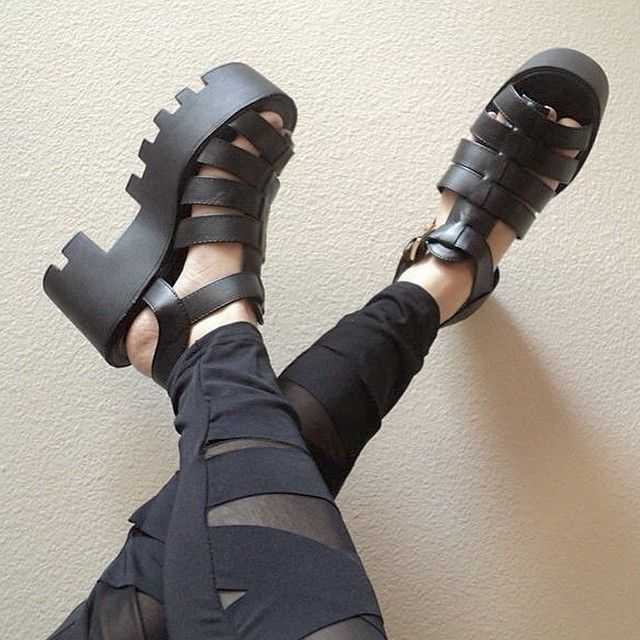 Time to wear the crap outta these platforms