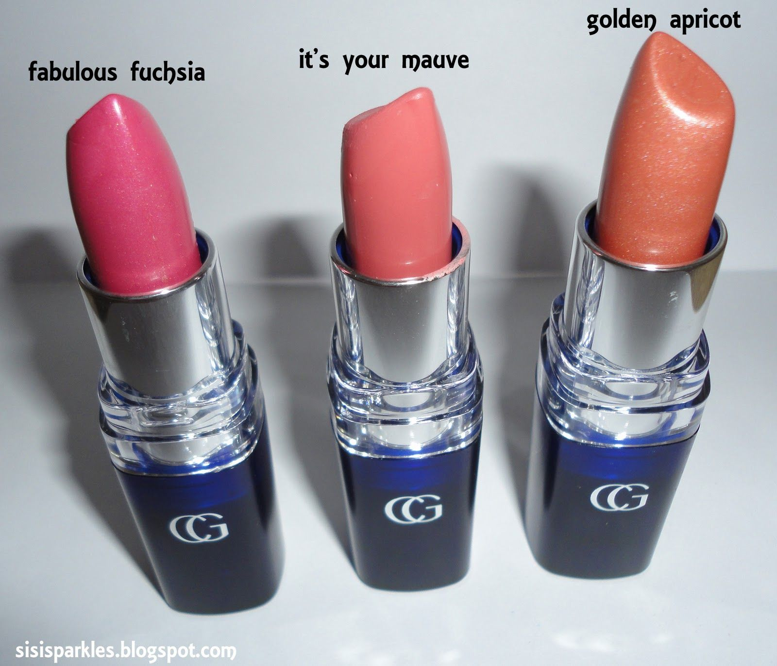 SiSi Sparkles: Swatch: Covergirl Continuous Color Lipstick golden ...