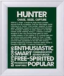 Hunter | Boy name meanings, Names with meaning, Baby names ...
