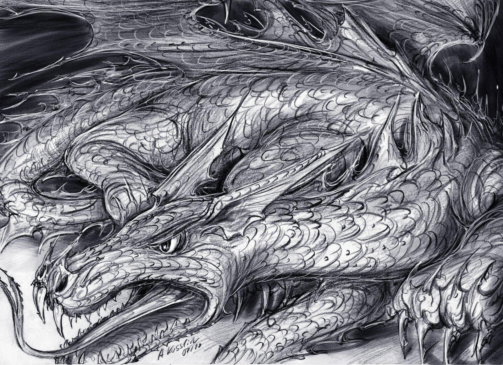 Дракон фафнир картинка
