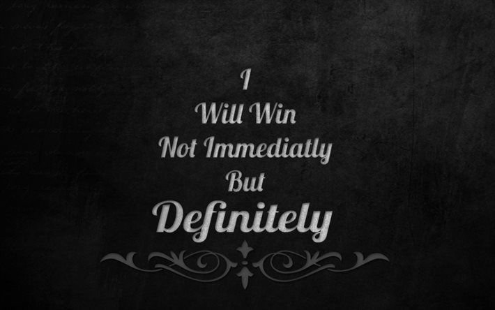 Download Wallpapers Quotes Motivation Victory Winner