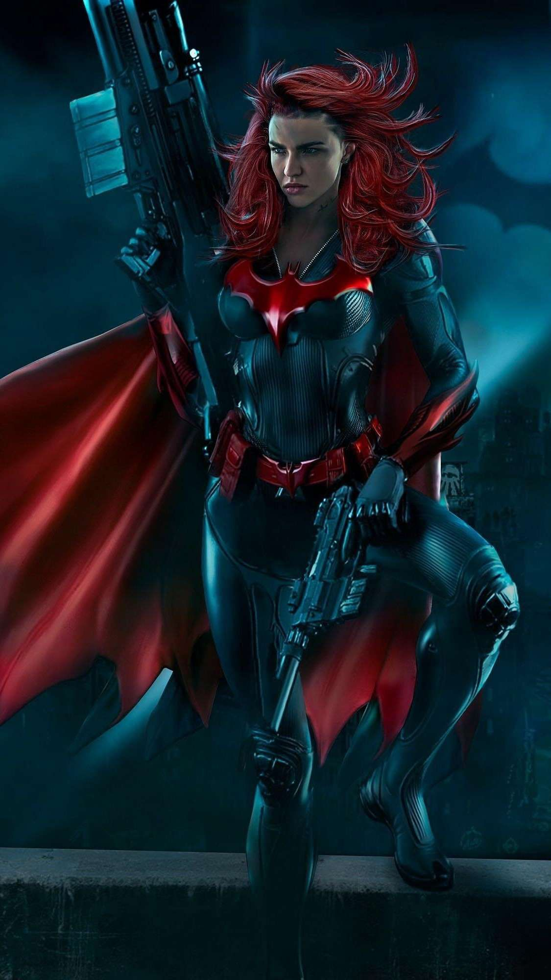 The Batwoman Iphone Wallpaper Batwoman Superhero Comics Girls