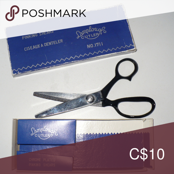 Multifunction stainless pinking shears scissors sewing DIY