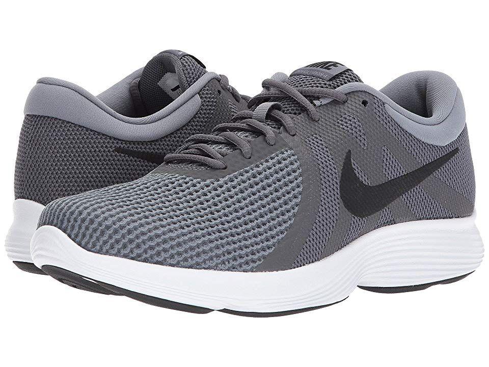 casete Mecánica paño  Nike Revolution 4 Men's Running Shoes Dark Grey/Black/Cool Grey/White |  Mens nike shoes, Boys white shoes, Nike