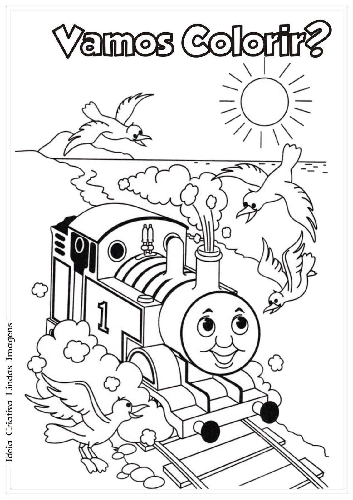 Ideia Criativa Lindas Imagens Desenho Thomas E Seus Amigos Para