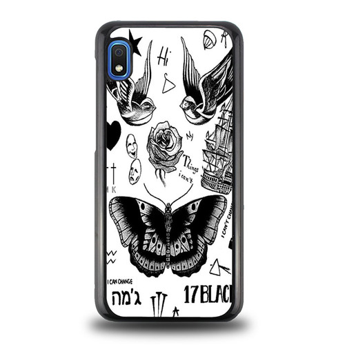 Harry Styles Tattoos X0606 Samsung Galaxy A10e Case Harry Styles Tattoos Galaxy Note 4 Case Samsung Galaxy Cases