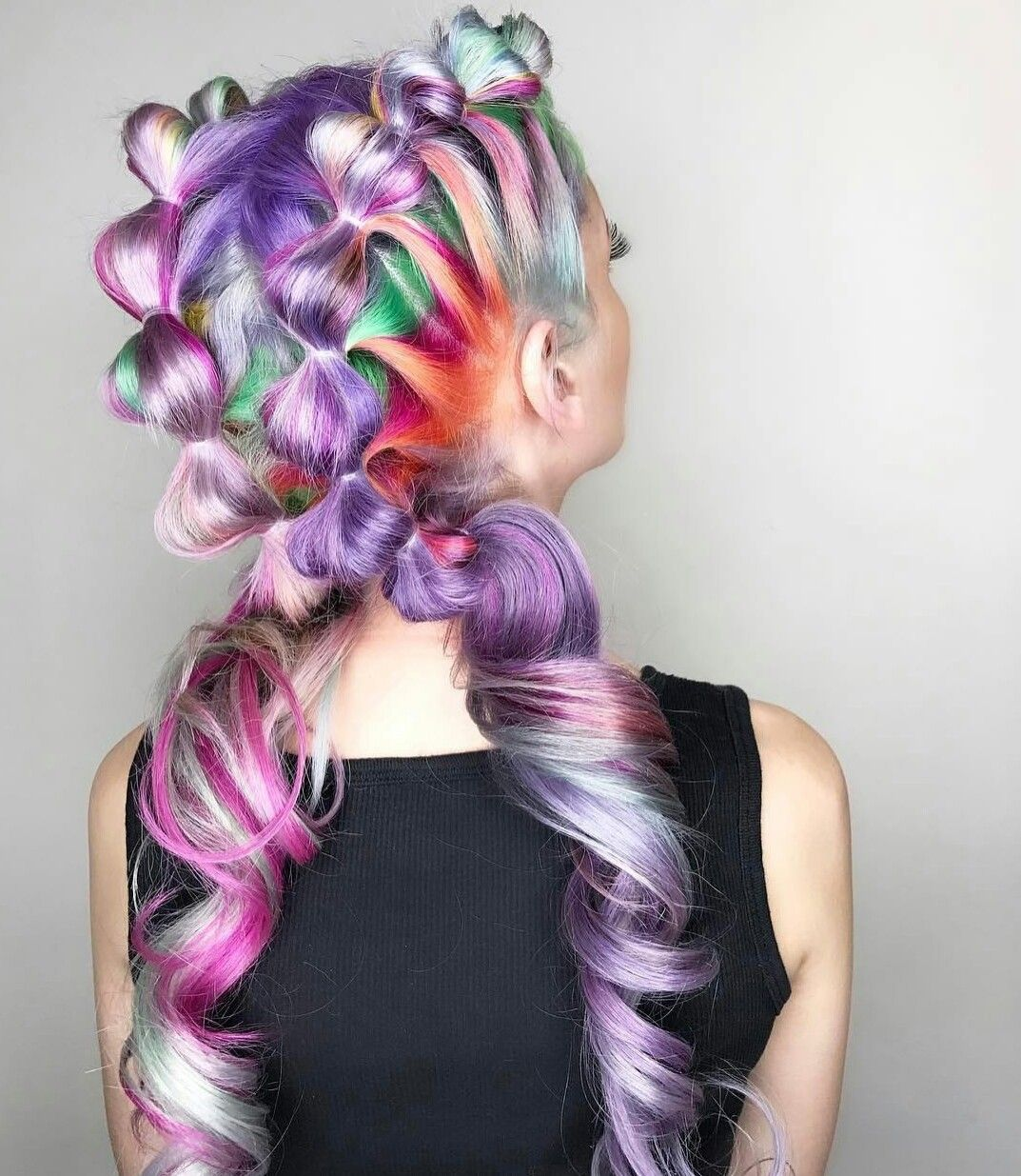 🎉Easy hairstyles and new styles (Lau Fancy) Pinterest