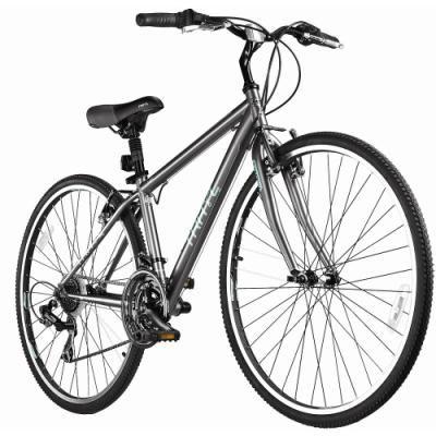 6728f342034 TRAYL Women's Swift 700C Hybrid Bicycle - Size: Medium, Charcoal ...