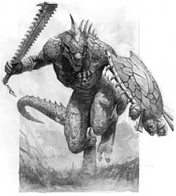Realms of Chirak: Lizard Men in Magic World