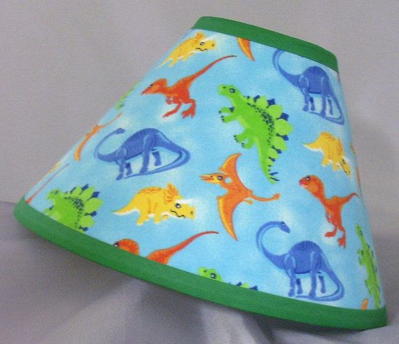 Dinosaur lamp shade by littlebobbycreations on etsy 3299 baby dinosaur lamp shade by littlebobbycreations on etsy 3299 mozeypictures Gallery