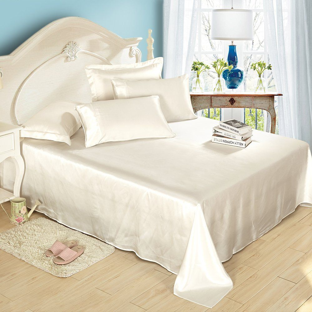 LILYSILK Seamless Luxury Mulberry Momme Silk Bedding Sets pcs