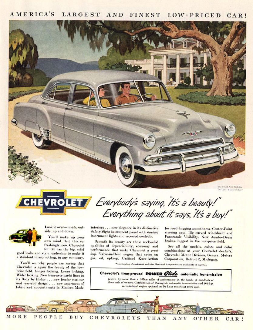 Chevy 1951 | Vintage Auto Ads | Pinterest | Chevrolet, Ads and Cars