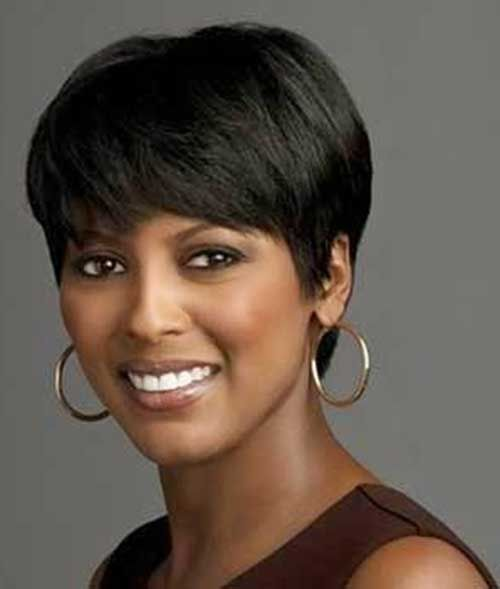 Short Haircuts For Black Women With Round Faces Short Hair Styles Short Wigs American Hairstyles