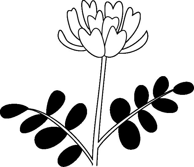 イラストポップの季節の素材 春夏秋冬の行事や風物のイラスト4月2 No04レンゲの無料ダウンロードページ イラスト レンゲ 風物
