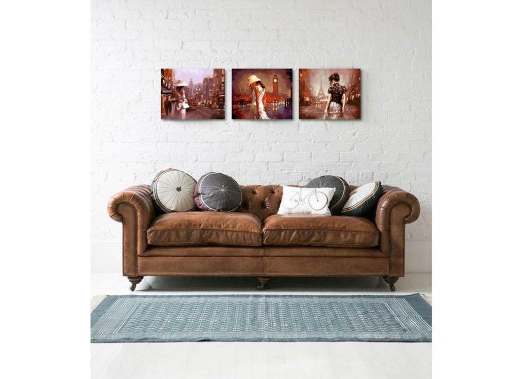 Картина по номерам «Объятая ночью» | Картины, Триптих, Объятия