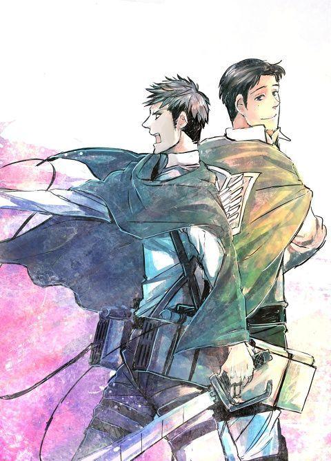 「君に心臓を捧げよう」/「つまみねこ」のイラスト [pixiv] (Shingeki no Kyojin/Attack on Titan - Jean and Marco by つまみねこ)