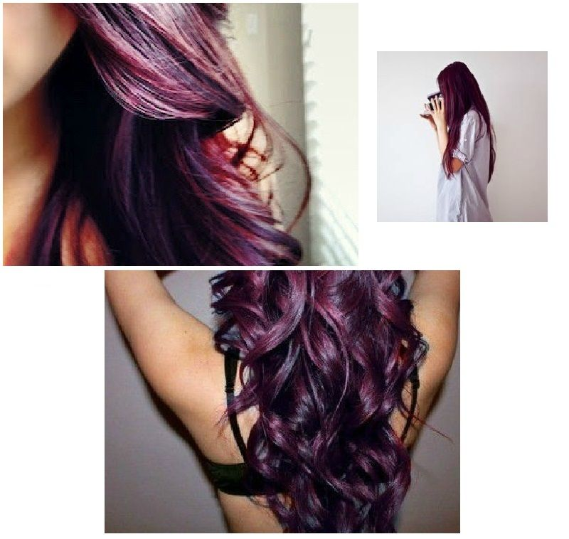Burgundy Plum Hair In Love With This Color Pretty Hairsytles