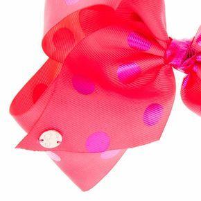 jojo siwa large pink purple polka dot hair bow what tash wants for christmas pinterest jojo siwa hair bow and jojo bows