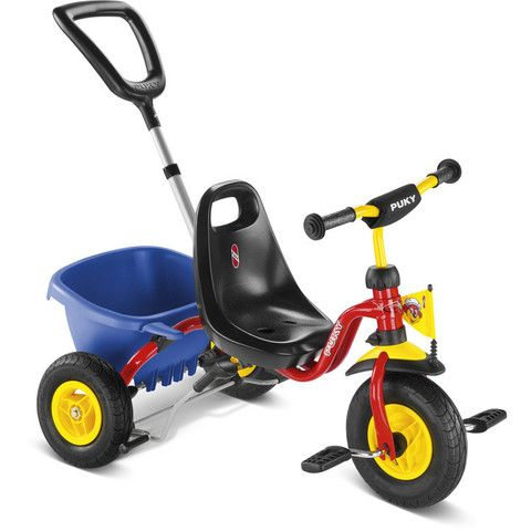 a53fa8677af PUKY CAT 1L Tricycle - Red | PUKY Tricycles | Tricycle, Kids trike ...