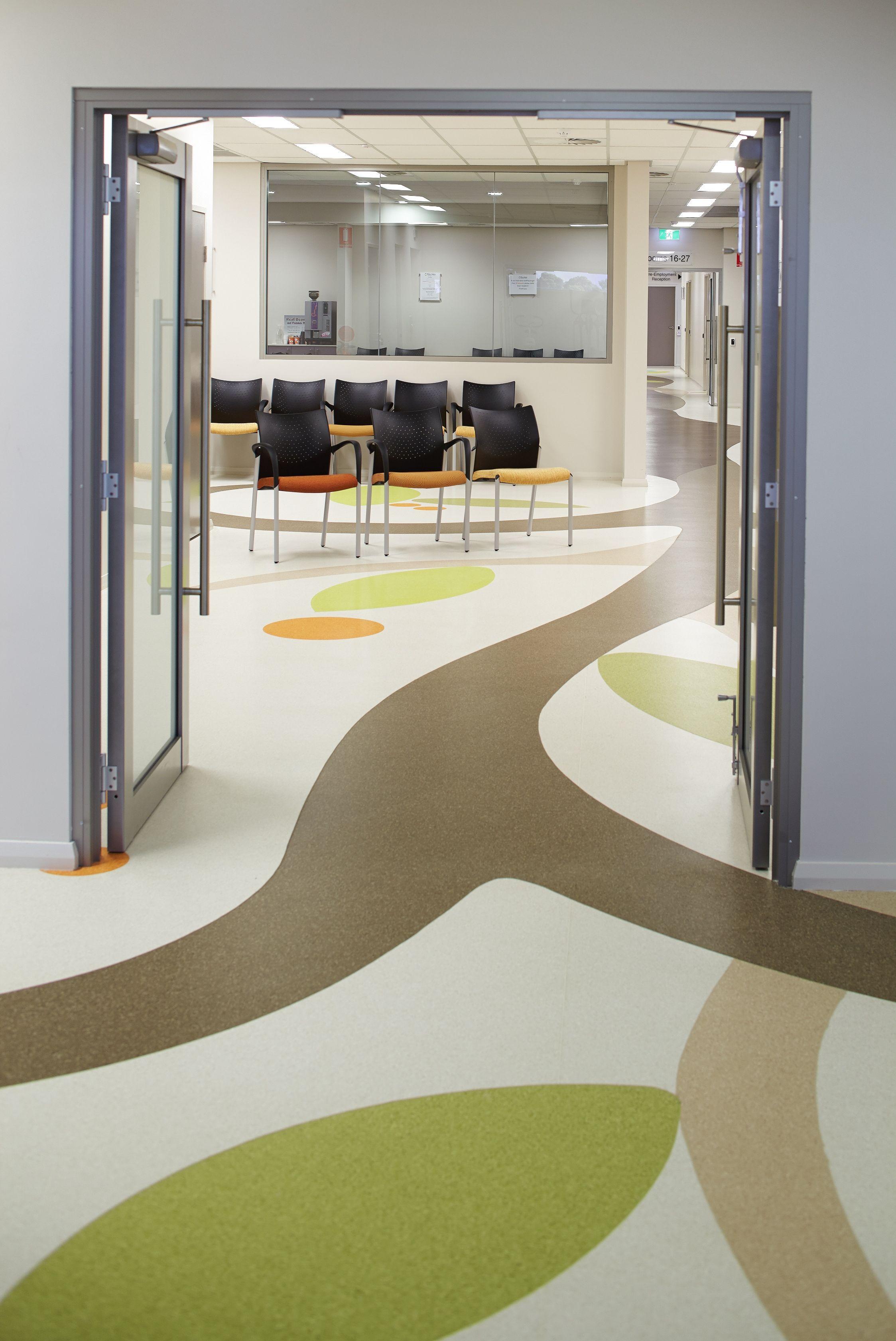 Bunbury Medical Centre gerlor flooring design