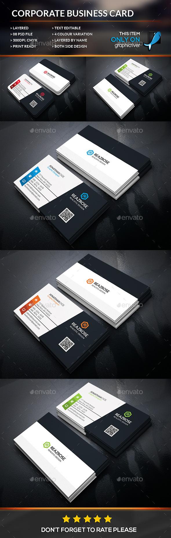 Modern corporate business card business card template psd modern corporate business card business card template psd download here http reheart Images