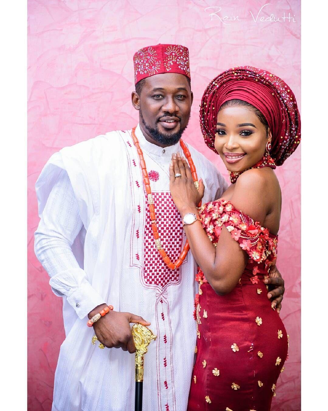 Beautiful Photos From Daniel K Daniels Traditional Marriage   Traditional  wedding attire, Marriage dress for men, Nigerian wedding attire