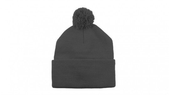 pom pom beanie mockup on on arsenal gomedia us go media s arsenal