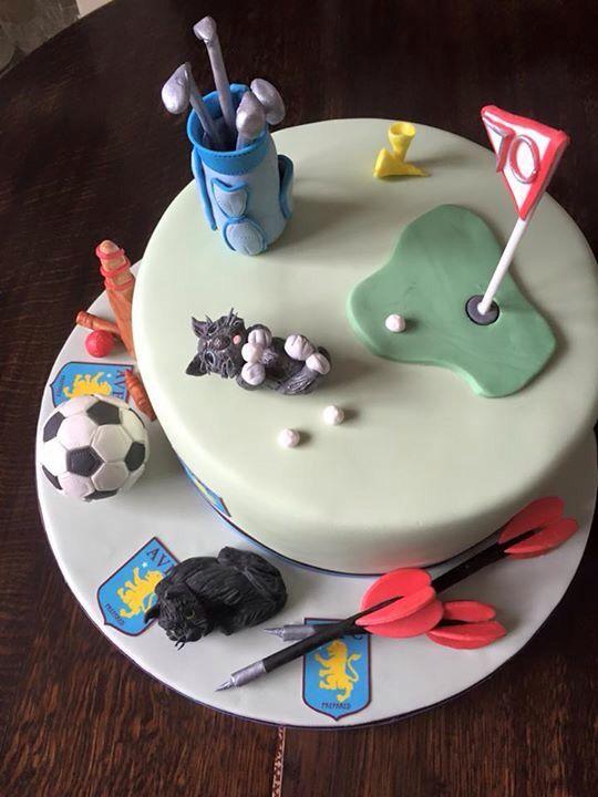 Remarkable Multi Sports Cake Sports Birthday Cakes Cake Sport Cakes Funny Birthday Cards Online Bapapcheapnameinfo