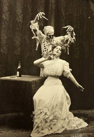 Death and the Lady, 1906.