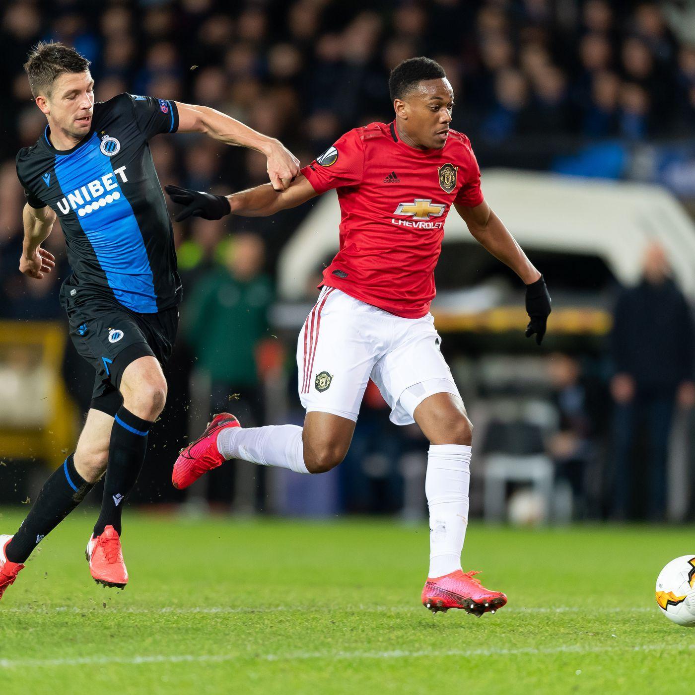 ไฮไลท์ฟุตบอล ยูฟ่า ยูโรป้า ลีก คลับ บรูช 1-1 แมนเชสเตอร์ ยูไนเต็ด Club  Brugge 1 - 1 Manchester United
