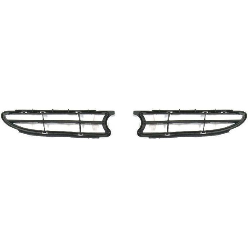 New For Toyota Corolla Fits 98 00 Front Grille Inserts Lh Rh Sides Set Of 2 Pair Brandnew100 Toyota Corolla Grille Inserts Corolla