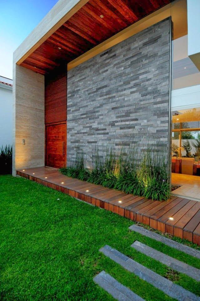 360 traumvilla in mexiko arq fachadas fachadas de for Plantas minimalistas para exteriores
