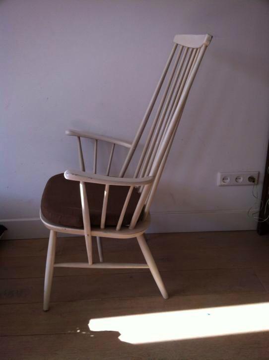 Houten Design Fauteuil.Houten Spijlen Stoel Lijkt Op Hay Retro Vintage Design Retro