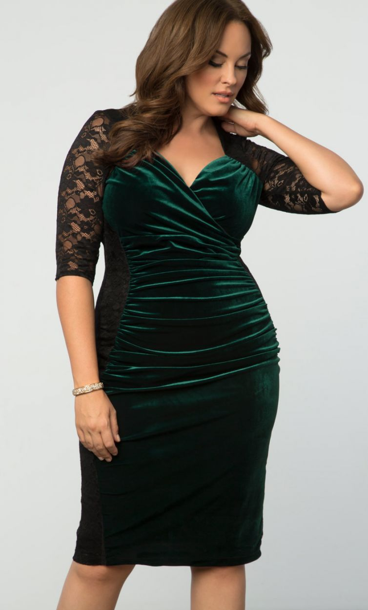 a0c6489b61 Hourglass Lace Dress. Hourglass Lace Dress Plus Size Holiday ...