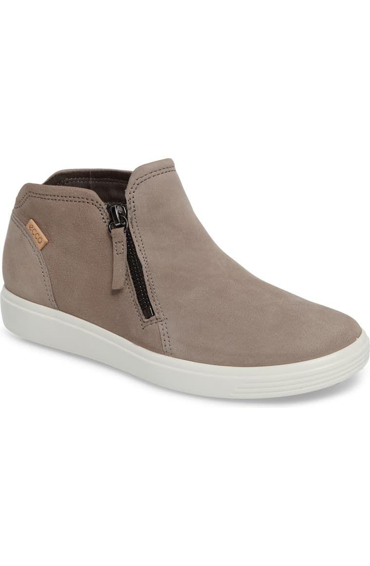 ECCO Soft 7 Mid Top Sneaker (Women