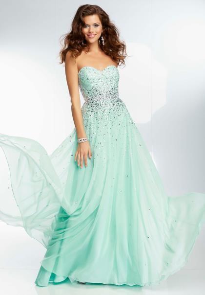 Empire Waist Mori Lee Dress 95090 | Mori lee prom, Homecoming ...