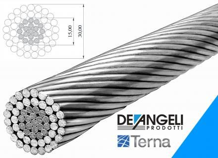 Terna certification for ZTACIR Ø 30,00 mm conductor   De Angeli ...