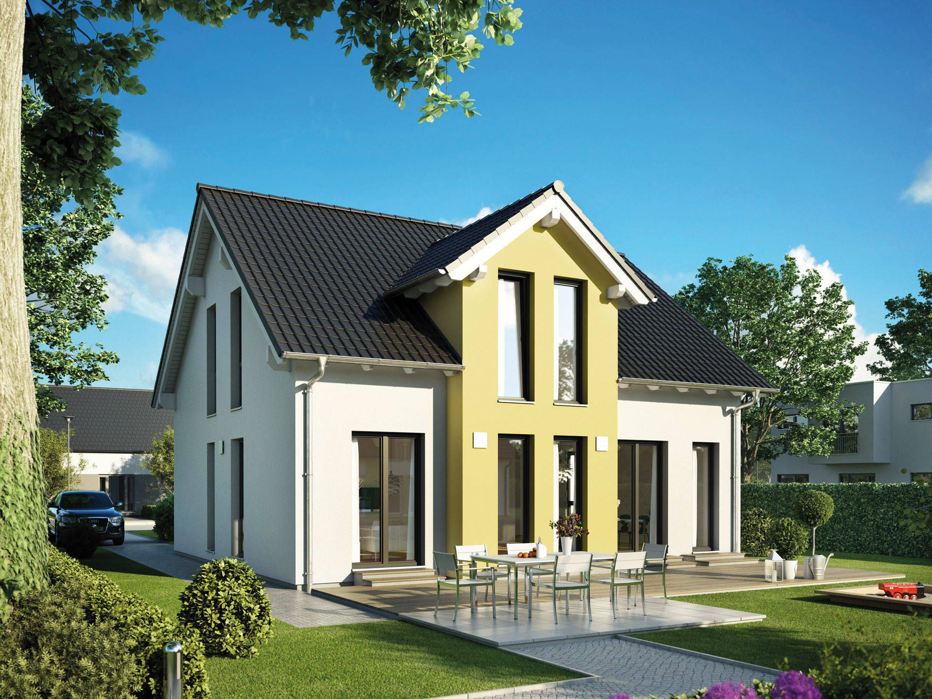 Einfamilienhaus Concept 11 • Energiesparhaus von Ein SteinHaus ...