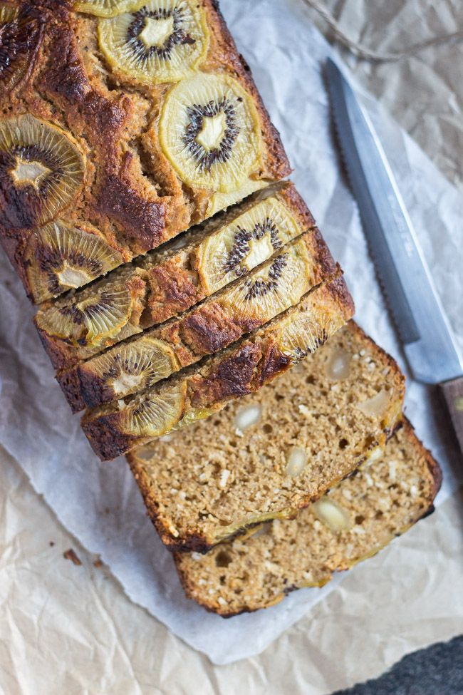 Kiwifruit, Macadamia & Coconut Bread. The perfect mid-afternoon treat, or toast it for a quick and easy breakfast on the run.